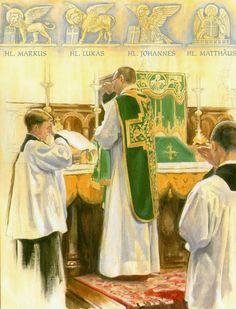 Evangelho Santa Missa de Sempre - Imagens - Associação Santo Atanásio