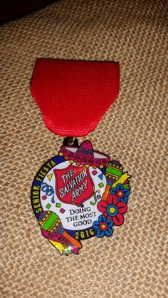 2016 Salvation Army Medal