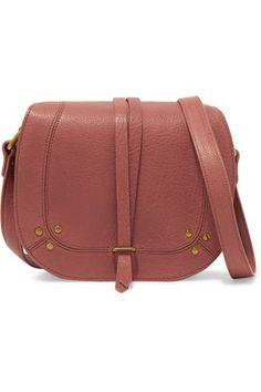 bd42e06cf2 Shop on-sale JÉRÔME DREYFUSS Victor chain-trimmed textured-leather shoulder  bag. Browse other discount designer Shoulder Bags   more on The Most  Fashionable ...