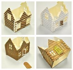 I started my creative journey as a freelance cartoonist before Landing a job with Sizzix Back in the year Like most makers I am happy to turn my hand Christmas Nativity Scene, Woodland Christmas, Christmas Mantels, Christmas Villages, Christmas Home, Cardboard Box Houses, Paper Houses, Putz Houses, Paper Crafts