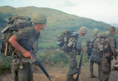 Humping 70-100 Lbs in the Highlands. Add to that, 100+ degree heat & almost 100% humidity, snakes, leeches, mines, ambushes, lack of sleep and hot meals, being on the move constantly while hunting others (and them hunting you)....yeah, I remember The 'Nam