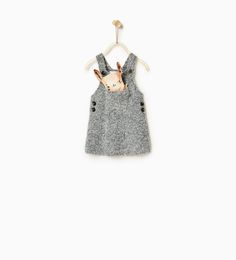 Bouclé pinafore dress-DRESSES-Baby girl-Baby | 3 months - 3 years-KIDS | ZARA United States