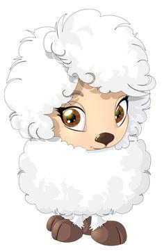 Pretty little lamb Painting Patterns, Fabric Painting, Sheep Drawing, Sheep Cartoon, Birthday Post Instagram, Cute Lamb, Eid Crafts, Cute Animal Illustration, Cute Sheep