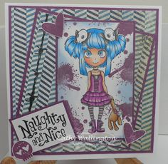 Visible image Stamps, Molly, Molly Rules, Create and Craft