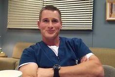 Brendan Fehr onThe Night Shift. I've loved him since he played in Roswell as Michael Garrett.