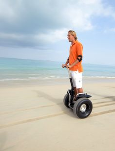 Segway Adventure at the beach!