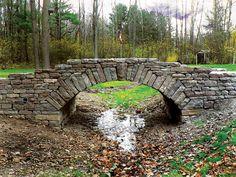 Home - Upper Canada Stone Pond Bridge, Driveway Installation, Farm Pond, Small Bridge, Stone Masonry, Dry Stone, Beautiful Places To Travel, Stone Houses, Covered Bridges
