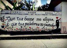 Deja que tus besos hablen...