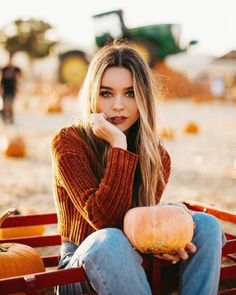 Beautiful Female Portrait Photography By Andre Nguyen – Photography, Landscape photography, Photography tips Pumpkin Patch Pictures, Pumpkin Photos, Autumn Photography, Digital Photography, Portrait Photography, Photography Ideas, Travel Photography, Spring Outfits Classy, Fall Outfits