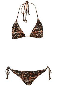 f0004bd5594d0 Black Tiger Print Bikini - StyleSays Black Tigers