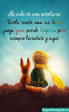 Amazing Inspirational Quotes, Quotes En Espanol, The Little Prince, Spanish Quotes, Love Notes, Wise Words, Positive Quotes, Real Life, Mindfulness