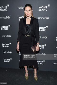 Olivia Palermo attends the Montblanc & UNICEF Gala Dinner at the New York Public Library on April 3, 2017 in New York City.