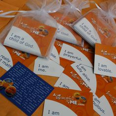 Packet of 40 different Affirmations $5.00