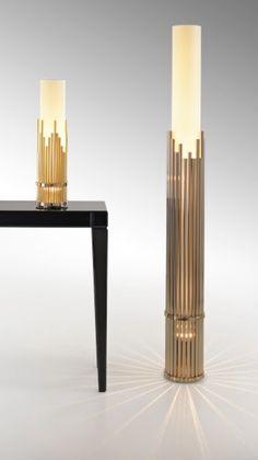 Fendi Sukhothai table lamp & floor lamp