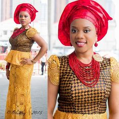 Creative Ankara and Lace Combinations  http://www.dezangozone.com/2015/07/creative-ankara-and-lace-combinations.html