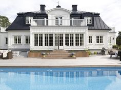 and Gripsholm home 4 Modern Interior Design, Interior Design Living Room, Swedish House, House Layouts, Pool Houses, House Rooms, Home Fashion, My Dream Home, Exterior Design