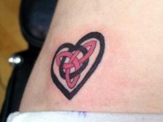 Heart Shape Celtic Tattoo