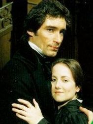 Timothy Dalton and Zelah Clarke in BBC (1983) version of Jane Eyre. This is my favorite adaptation of Jane Eyre.