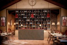 aménagement cave à vin