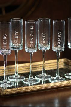 Clear Celebration Champagne Flute - Set of 6