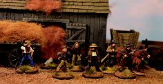 Cowboys from Artizan Design 28mm Miniatures, Old West, Diorama, Cowboys, Miniature Wargames, Steampunk, Models, Minis, Gaming