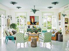 This interior designer's Dominican Republic retreat is a study in tropical whimsy - Vogue Living