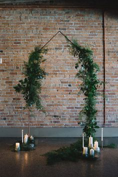 Industrial green and copper wedding inspiration