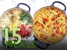 Vegan one pot meals