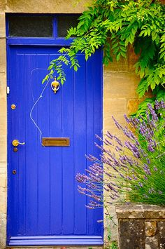 Cotswold cottage door (Bourton On The Water)