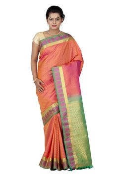 Buy #Kanjivaram #Silk #Sari For Festive Occasions..!! ✲ Free Shipping ✲ You can also call on +91 9916690003 (10AM-6PM) to place the order..!!