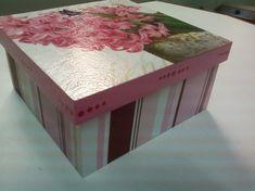 Como fazer decoupage em caixas de madeira - Atitudes Sustentáveis