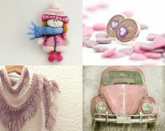 Pink in the winter by Ann Zaborka on Etsy--Pinned with TreasuryPin.com