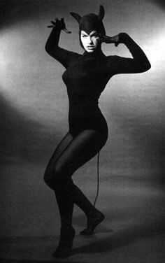 Bettie Page. . .meow
