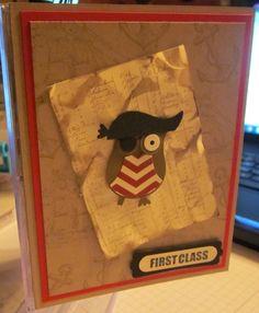 Stampin' Up! Owl Pirate!