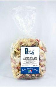 Eliche tricolore di semola di grano duro gr 500