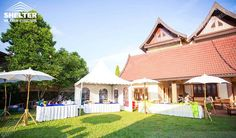 Small Tent, Shelter Tent, Tents, Wedding Venues, Mansions, Website, House Styles, Outdoor Decor, Home Decor