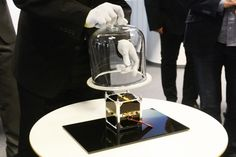 This is the first Slovak satellite named skCUBE. Unfortunately it has just stopped communicating with Earth ;