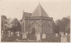 Real Photo Postcard  Rowhedge Church The by FunerealEphemera, $10.00