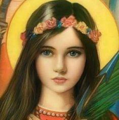 Religious Pictures, Religious Art, Saint Philomena, Eucharist, Catholic Saints, Christianity, Religion, Heaven, Faith