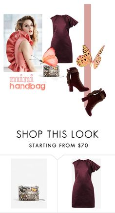 """mini handbag"" by conestilo ❤ liked on Polyvore featuring MANGO, Gabor, Ted Baker, Chloé and Minime"