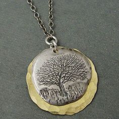 Tree of Life Necklace: I love the message of this symbol and also like the fact that it can be word with both silver and/or gold accessories.
