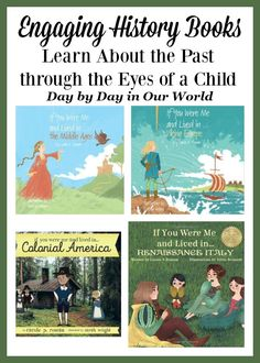Looking for a fun way to get kids learning about history? Check out this new series of history books from Carole P Roman. via @LauraOinAK