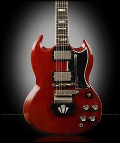 This is a good looking guitar.  Someday, I'm gonna get me a Gibson Les Paul, then a Gibson SG, like this one.