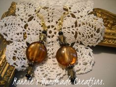 Handmade Earrings by Marnie's Handmade Creations.