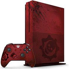 Xbox One S 2TB Console - Gears of War 4 Limited Edition Bundle https://www.amazon.com/Xbox-Wireless-Controller-Crimson-Limited-one/dp/B01IFE2OFG/ref=as_li_ss_tl?s=videogames&ie=UTF8&qid=1475703812&sr=1-20&keywords=xbox+controller&linkCode=ll1&tag=mypintrest-20&linkId=59ff5b0c199c783b4ba632707ef278a5