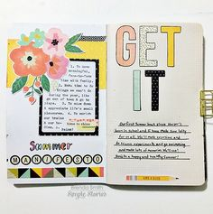 Carpe Diem Reset Girl Doc It Journal from creative team member Brenda Smith