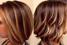 Cute Caramel Highlights Hair