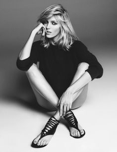 Anja Rubik for Giuseppe Zanotti Spring 2013 Capsule Collection