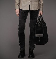 Trousers|Mens Luxe Suede Telford Trousers|Belstaff