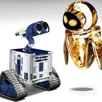 Wall-E and Eve Join the 'Star Wars' Universe ^